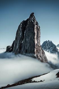 超唯美的雪山風景圖片壁紙