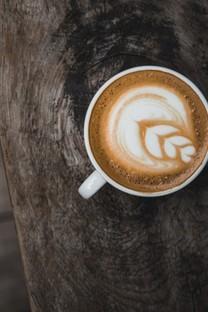 一杯咖啡美食高清圖片壁紙