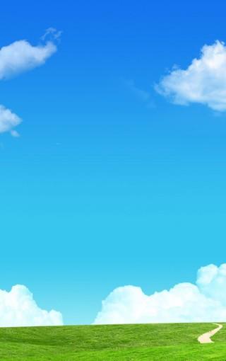 背景 壁纸 草原 风景 天空 桌面 320_510 竖版 竖屏 手机