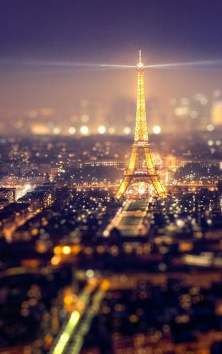 风景壁纸 城市风景壁纸 城市璀璨夜晚手机壁纸