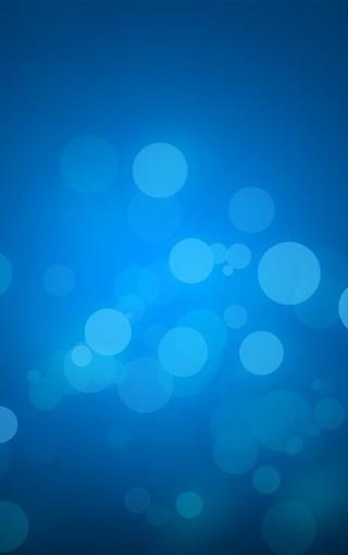 蓝色主题iphone高清大图壁纸