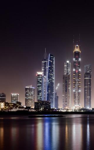 迪拜城市风景手机壁纸下载