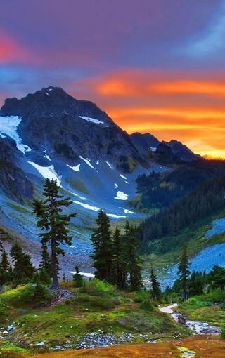 风景壁纸 自然风景壁纸 加拿大美景手机壁纸