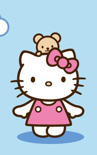 hello kitty可爱高清手机壁纸