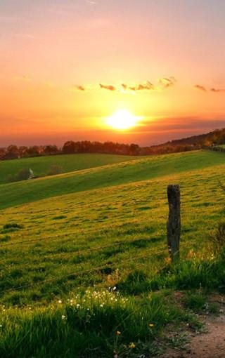 风景壁纸 自然风景壁纸 晨光唯美景色手机壁纸