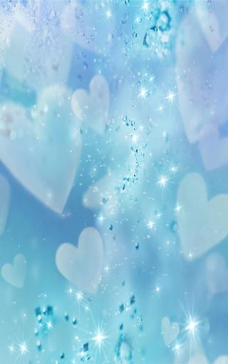 梦幻浅蓝创意手机壁纸