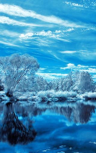 蓝色风景高清手机壁纸 第7页-zol手机壁纸