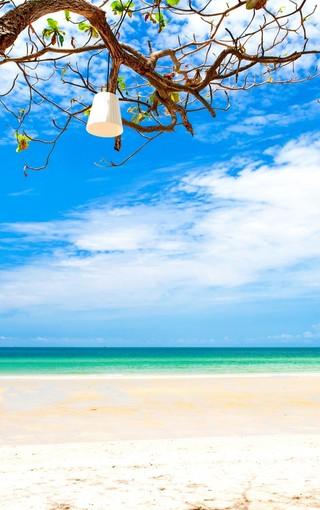 清新大海景色高清壁纸