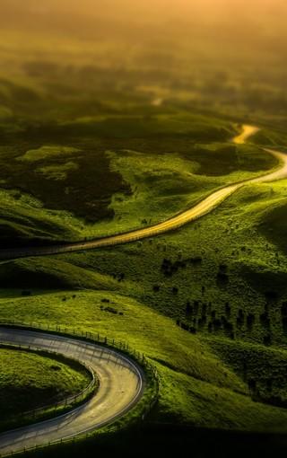 风景壁纸 自然风景壁纸 最美田园景观手机壁纸   扫描二维码下载壁纸