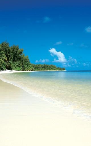 风景壁纸 自然风景壁纸 沙滩海岸唯美景色壁纸