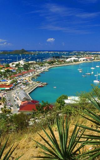 风景壁纸 自然风景壁纸 加勒比海风景手机壁纸   扫描二维码下载壁纸