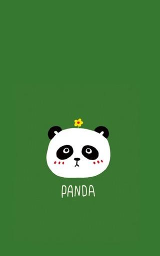 动物壁纸 熊猫壁纸 可爱熊猫手机壁纸   扫描二维码下载壁纸到手机