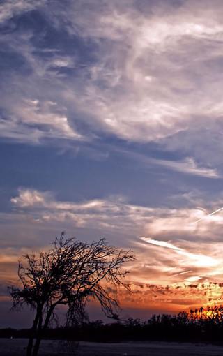 风景壁纸 自然风景壁纸 绝美朝霞和晚霞风景手机壁纸