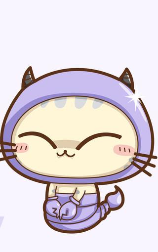 cc猫可爱卡通手机壁纸