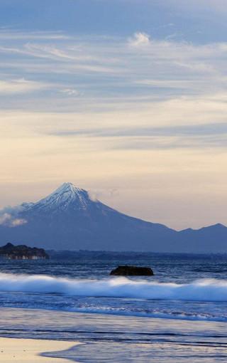 风景壁纸 高清风景壁纸 唯美海滩高清美景手机壁纸