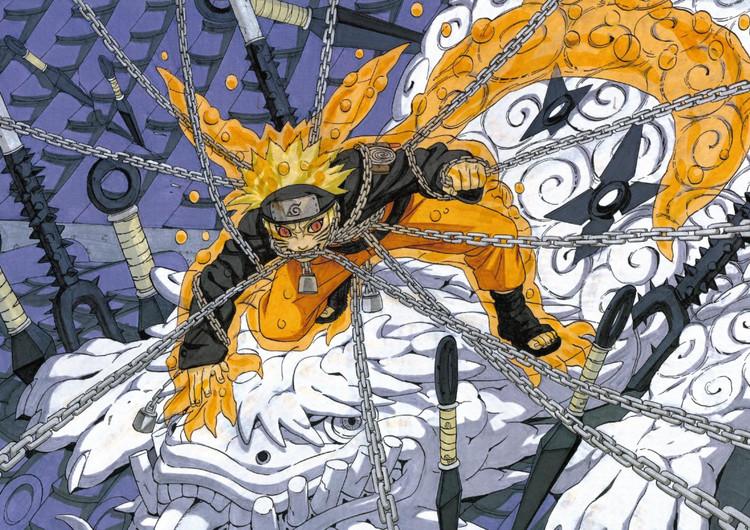 动漫壁纸 火影忍者壁纸 漩涡鸣人高清壁纸