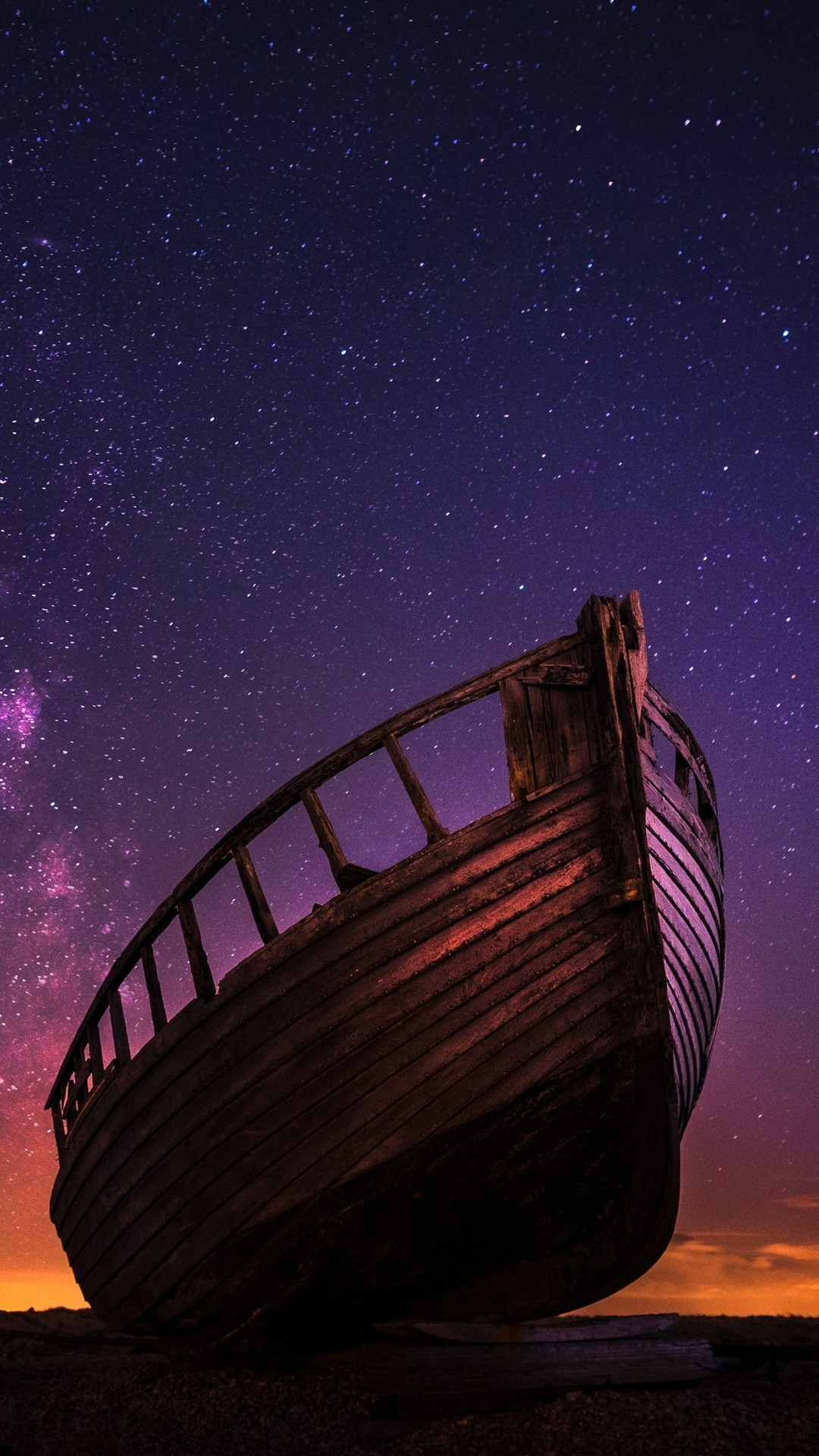 好看夜景唯美璀璨星空图片壁纸