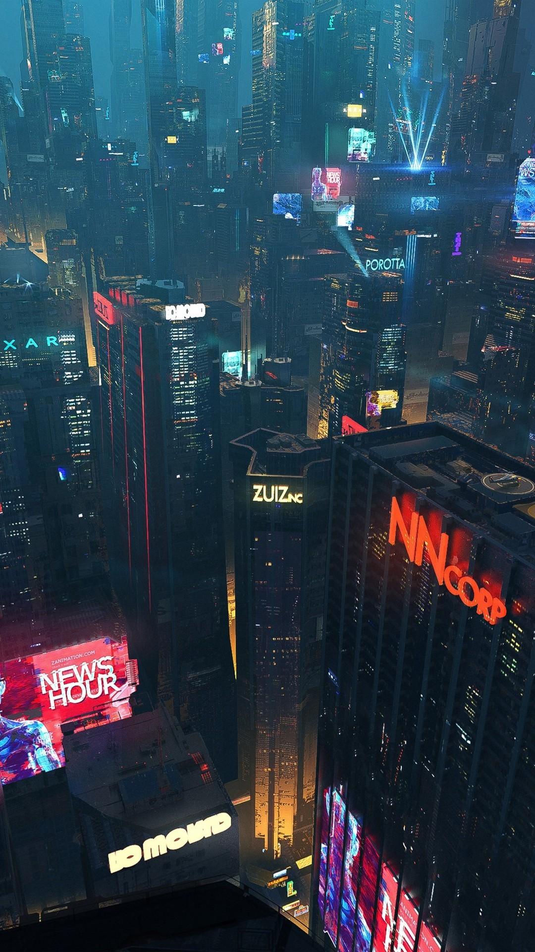 未来的城市的图片壁纸