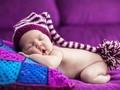 宝宝满月创意照片图片大全壁纸