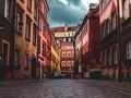 欧洲小镇风景手机图片壁纸