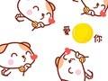 秋田君中秋节月饼节图片壁纸