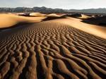 荒漠无限的沙漠自然风光图片壁纸