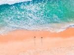 优美宜人的海岸风景手机图片壁纸