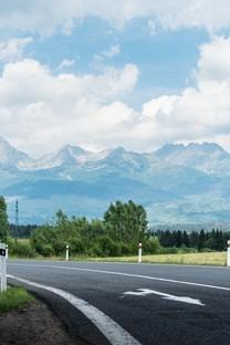 超美的公路风景高清图片壁纸