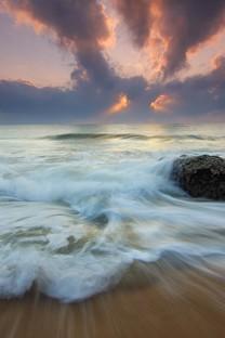 浪漫海边风景高清图片壁纸