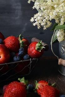 新鲜美味的诱人水果图片壁纸