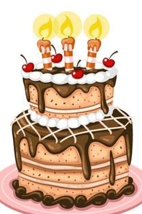 生日蛋糕图片手机壁纸