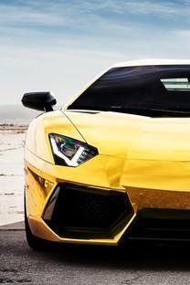 帅气黄色酷炫跑车壁纸