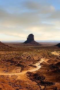 唯美戈壁峡谷自然风光风景图片壁纸2