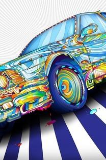 酷炫多彩跑车壁纸