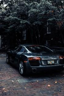 黑色系汽车图片壁纸
