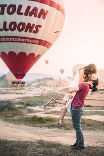 热气球手机图片壁纸