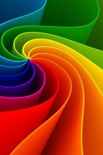 多彩的几何图形图中图