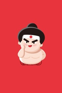 最最日语形象小人壁纸