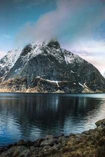 冬季雪景优美自然风景高清图片桌面壁纸