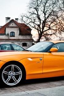 橘色系列跑车壁纸