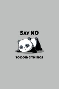 简约可爱卡通熊猫壁纸