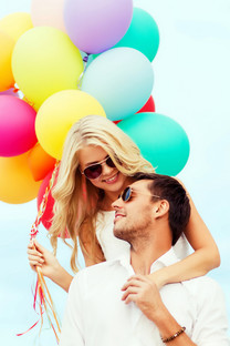 热气球唯美爱情手机壁纸