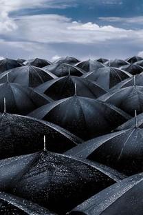 下雨天唯美手机壁纸