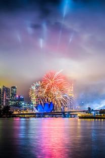 新加坡城市景色手机壁纸