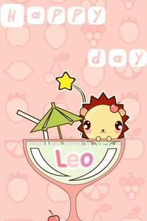 小狮子Leo卡通手机壁纸
