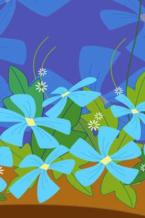 精美花卉设计手机壁纸