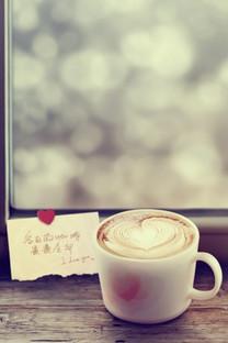 咖啡时光手机壁纸