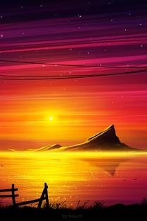 唯美动漫风景图片壁纸