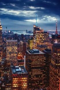 繁华的都市唯美夜景壁纸