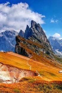 唯美大山自然风景高清图片壁纸